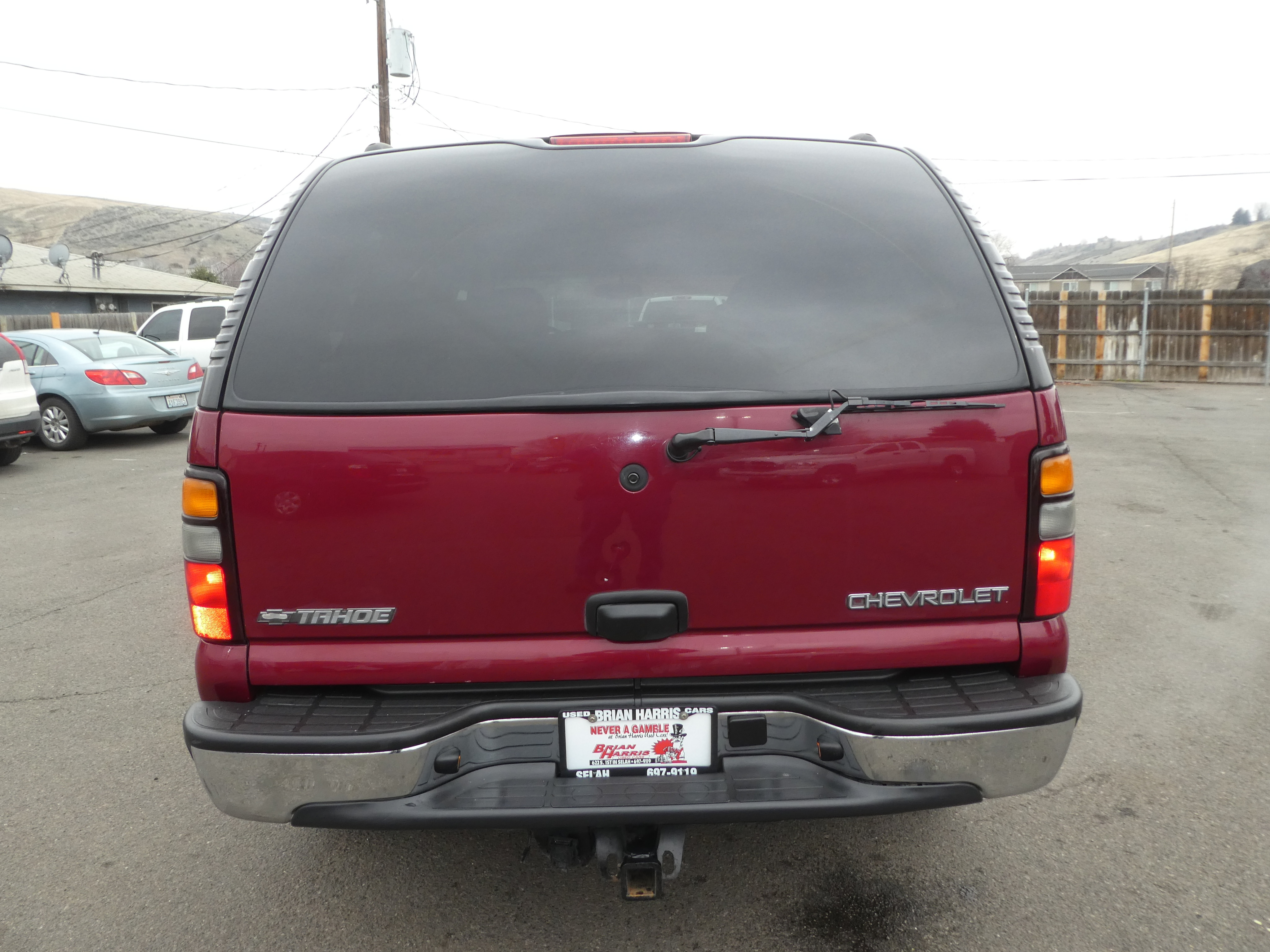 Used 2005 Chevrolet Tahoe For Sale at Brian Harris Used Cars