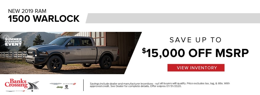 1500 Save up to $15,000 off MSRP