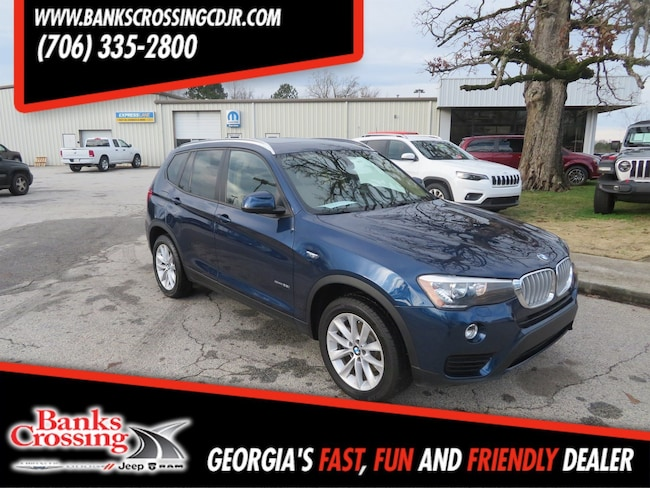 2017 BMW X3 sDrive28i sDrive28i Sports Activity Vehicle