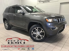 New 2019 Jeep Grand Cherokee LIMITED 4X4 Sport Utility 1C4RJFBG9KC569318 near Madison WI in Baraboo