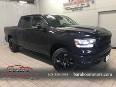 New 2019 Ram 1500 BIG HORN / LONE STAR CREW CAB 4X4 5'7 BOX Crew Cab 1C6SRFFTXKN800059 near Madison WI in Baraboo