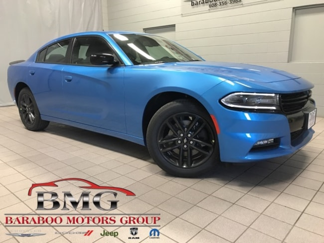 New 2019 Dodge Charger SXT AWD Sedan near Madison WI in Baraboo