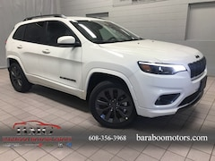 New 2019 Jeep Cherokee HIGH ALTITUDE 4X4 Sport Utility 1C4PJMDN4KD334102 near Madison WI in Baraboo