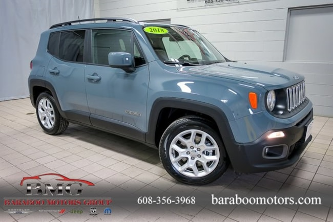 New 2018 Jeep Renegade LATITUDE 4X2 Sport Utility near Madison WI in Baraboo