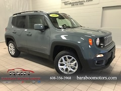 New 2018 Jeep Renegade LATITUDE 4X4 Sport Utility ZACCJBBB6JPJ11617 near Madison WI in Baraboo