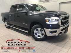 New 2019 Ram 1500 BIG HORN / LONE STAR CREW CAB 4X4 5'7 BOX Crew Cab 1C6SRFFTXKN691280 near Madison WI in Baraboo