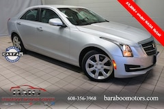 Used 2015 CADILLAC ATS 2.0L Turbo Luxury Sedan 1G6AH5RX7F0106113 in Baraboo WI