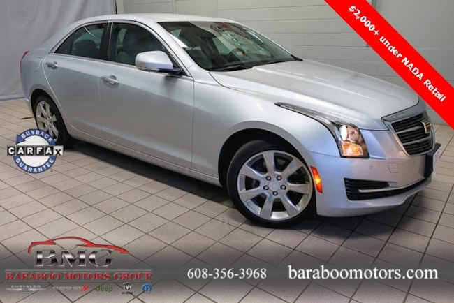 Used 2015 CADILLAC ATS 2.0L Turbo Luxury Sedan Baraboo