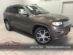 New 2019 Jeep Grand Cherokee OVERLAND 4X4 Sport Utility near Madison WI in Baraboo