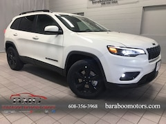 New 2019 Jeep Cherokee ALTITUDE 4X4 Sport Utility 1C4PJMLX4KD349539 near Madison WI in Baraboo