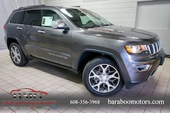 New 2019 Jeep Grand Cherokee LIMITED 4X4 Sport Utility near Madison WI in Baraboo