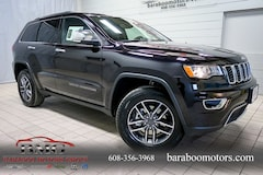 New 2019 Jeep Grand Cherokee LIMITED 4X4 Sport Utility 1C4RJFBG7KC637325 near Madison WI in Baraboo