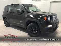 New 2018 Jeep Renegade SPORT 4X4 Sport Utility ZACCJBAB8JPH35682 near Madison WI in Baraboo
