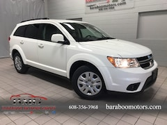 New 2018 Dodge Journey V6 VALUE PACKAGE Sport Utility 3C4PDCBG8JT522538 near Madison WI in Baraboo