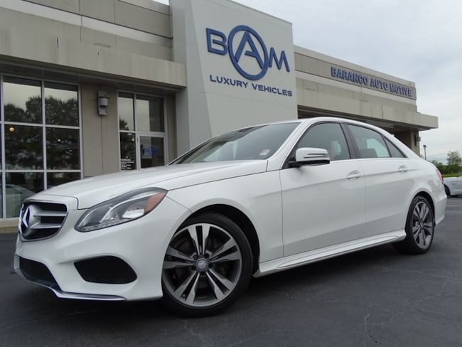 2016 Mercedes-Benz E-Class E 350 Sedan