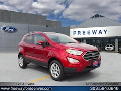 New 2018 Ford EcoSport SE SUV for sale in Denver at Barbee's Freeway Ford Inc.