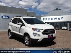New 2018 Ford EcoSport SE SUV MAJ6P1UL7JC197562 for sale in Denver at Barbee's Freeway Ford Inc.