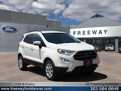 New 2018 Ford EcoSport SE SUV MAJ6P1UL7JC199263 for sale in Denver at Barbee's Freeway Ford Inc.