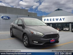 New 2018 Ford Focus SE Sedan for sale in Denver at Barbee's Freeway Ford Inc.
