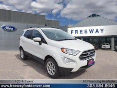 New 2018 Ford EcoSport SE SUV MAJ6P1UL2JC213506 for sale in Denver at Barbee's Freeway Ford Inc.