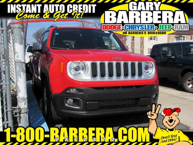 2018 Jeep Renegade LIMITED 4X2 Sport Utility Front-wheel Drive