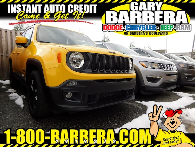 2018 Jeep Renegade ALTITUDE 4X2 Sport Utility Front-wheel Drive