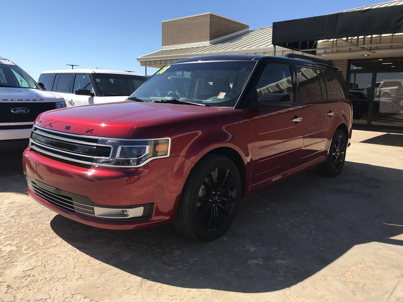 2018 Ford Flex Limited Limited AWD