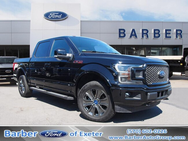 2018 Ford F-150 Supercrew Truck SuperCrew Cab