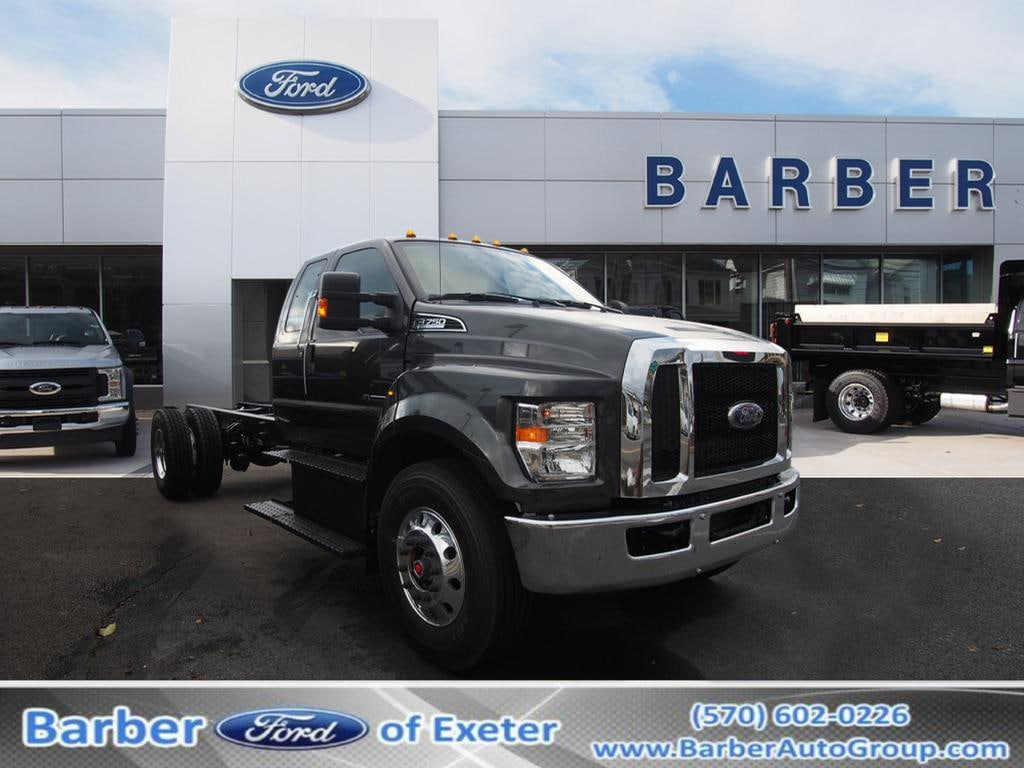 2019 Ford F-650-750 F-750 SD Diesel Straight Frame Truck SuperCab