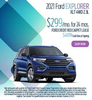 January 2021 Ford Explorer XLT 4WD 2.3L