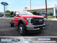 2018 Ford Chassis Cab F-550 XL Truck Regular Cab