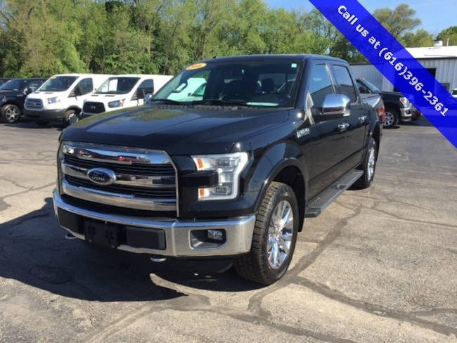 Used 2016 Ford F-150 Lariat Truck For Sale Holland, MI