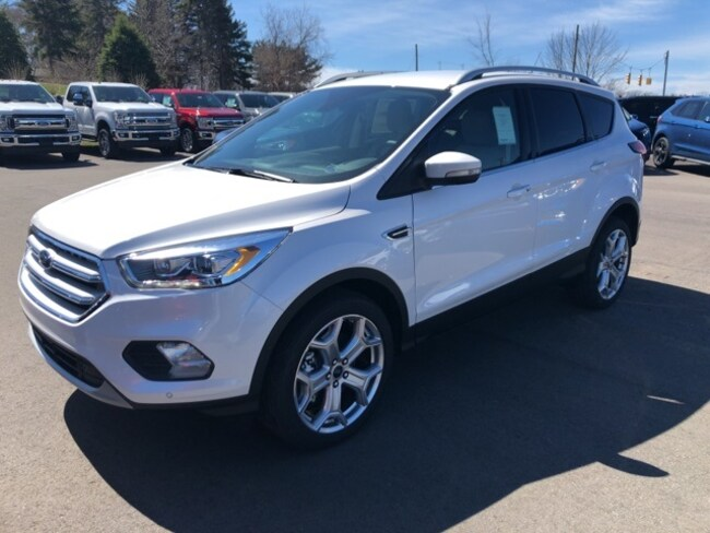 New 2019 Ford Escape Titanium SUV For sale/lease Holland, MI