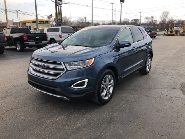 Used 2018 Ford Edge Titanium SUV For Sale Holland, MI