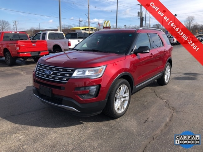 Used 2016 Ford Explorer XLT SUV For Sale Holland, MI