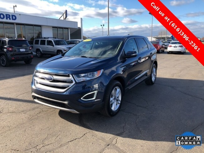 Used 2017 Ford Edge SEL SUV For Sale Holland, MI