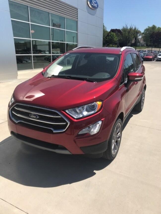 New 2018 Ford EcoSport Titanium SUV For sale/lease Holland, MI