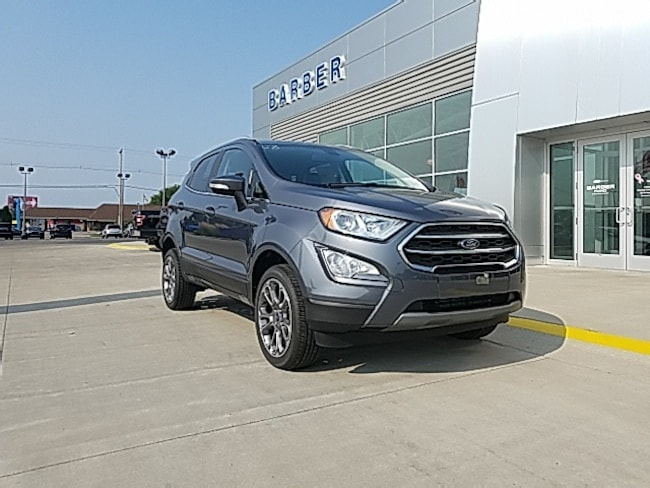 New 2018 Ford EcoSport Titanium SUV For sale/lease Holland, MI