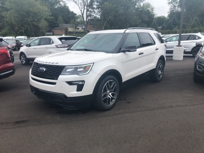 new 2019 ford explorer for sale/lease | holland mi | stock# f124