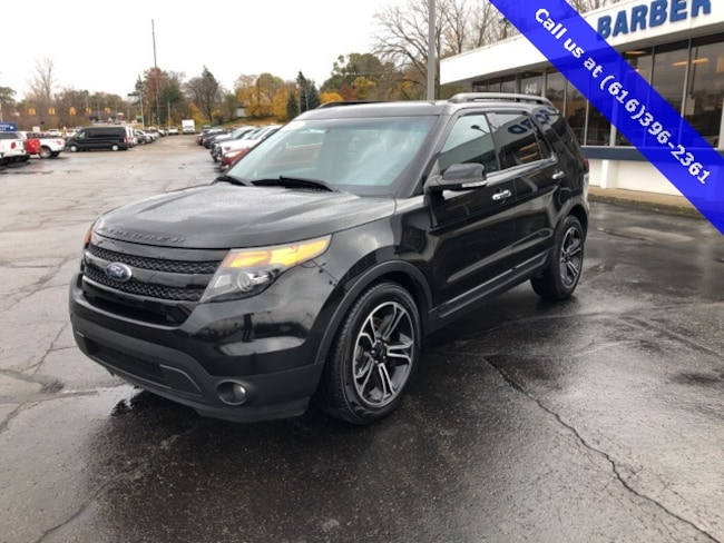 Used 2014 Ford Explorer Sport SUV For Sale Holland, MI