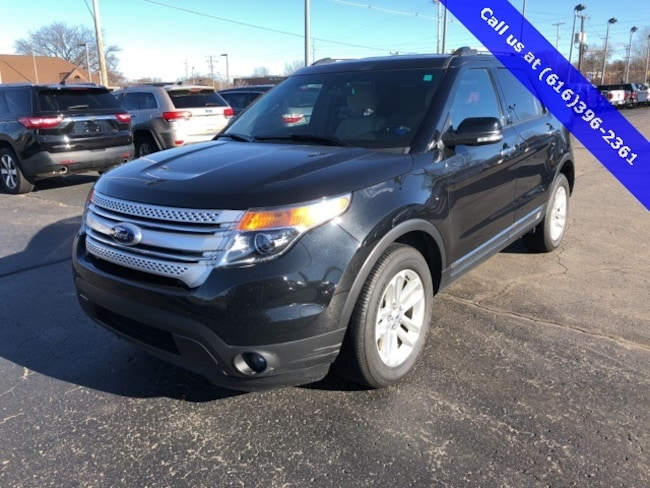Used 2014 Ford Explorer XLT SUV For Sale Holland, MI