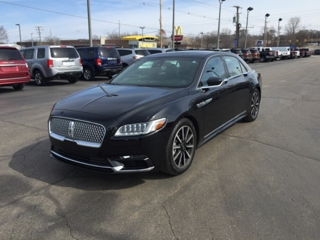Used 2017 Lincoln Continental Reserve Sedan For Sale Holland, MI