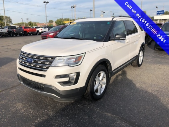 used 2016 ford explorer for sale holland mi stock 8458. Black Bedroom Furniture Sets. Home Design Ideas