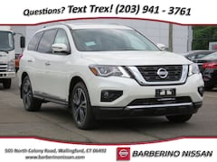 New 2019 Nissan Pathfinder Platinum SUV in Wallingford CT