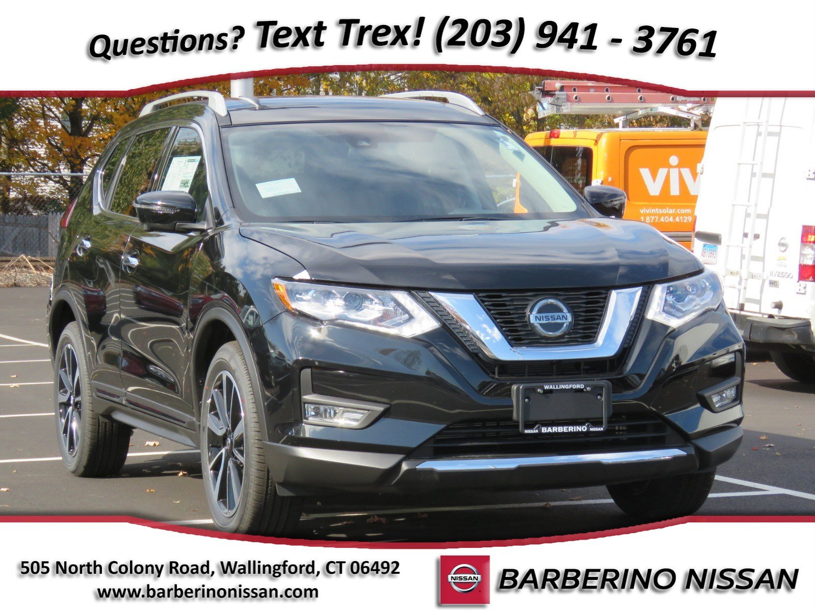 New 2019 Nissan Rogue SL SUV in Wallingford CT