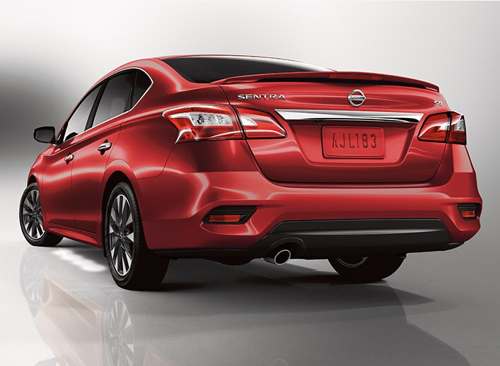 New Nissan Sentra red