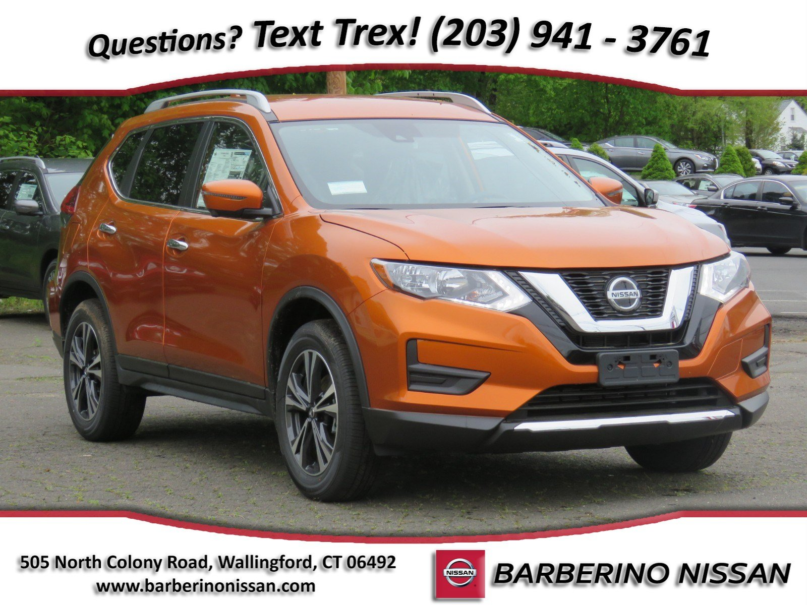 New 2019 Nissan Rogue SV SUV in Wallingford CT