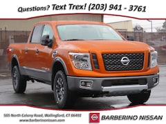 New 2019 Nissan Titan XD PRO-4X Gas Truck Crew Cab in Wallingford CT