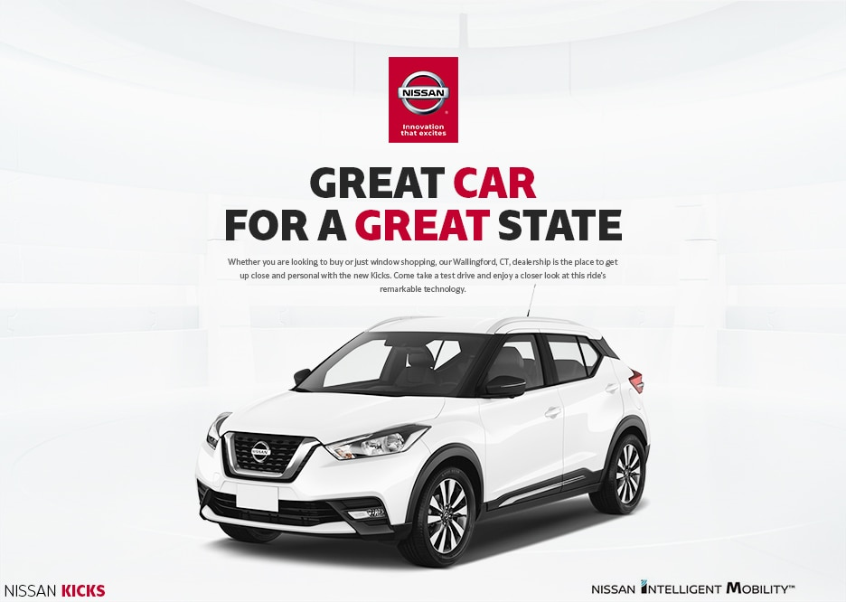 2019 Nissan Kicks white in Wallingford