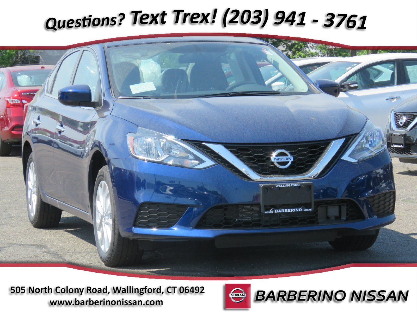 New 2018 Nissan Sentra SV Sedan in Wallingford CT